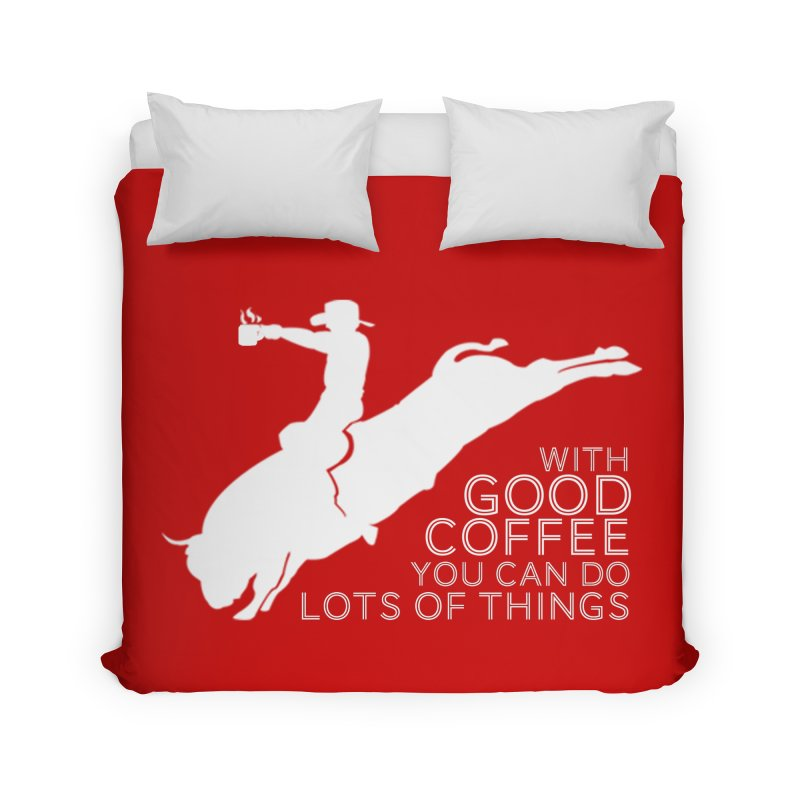 Do Lots of Things Home Duvet by Pure Coffee Blog Shop