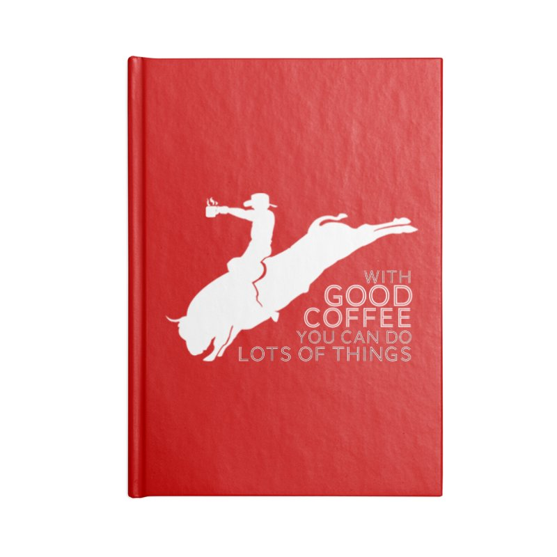 Do Lots of Things Accessories Notebook by Pure Coffee Blog Shop