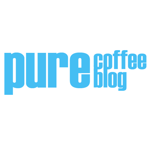 Pure Coffee Blog Shop Logo