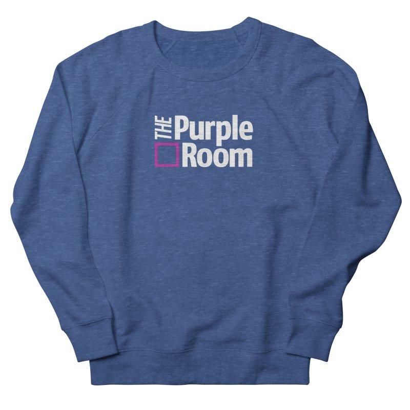 The Purple Room Men's Sweatshirt by The Purple Room Designs