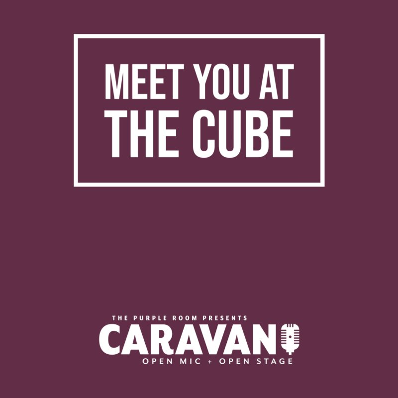 Meet You at the Cube (CaRaVaN) Kids Toddler T-Shirt by The Purple Room Designs
