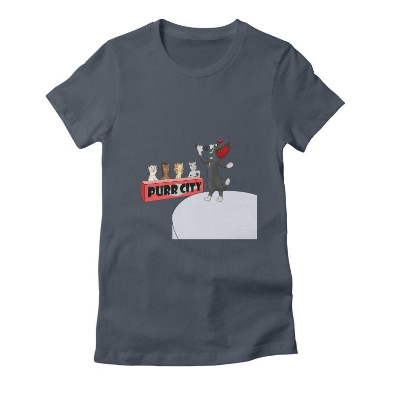 Cats have Talent Women's T-Shirt by Purr City's Artist Shop