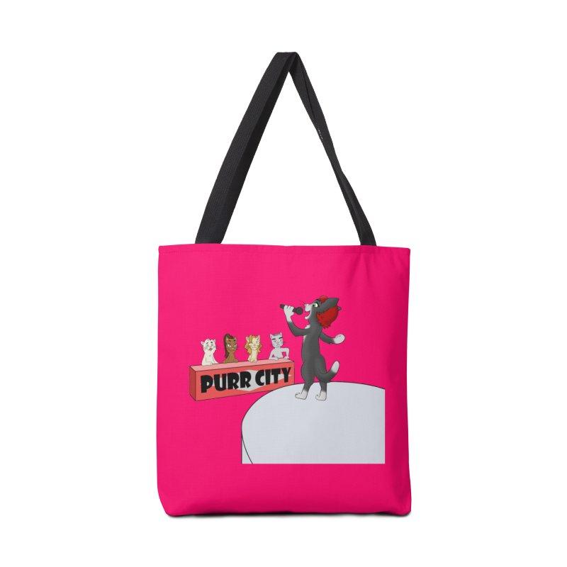 Cats have Talent Accessories Bag by Purr City's Artist Shop