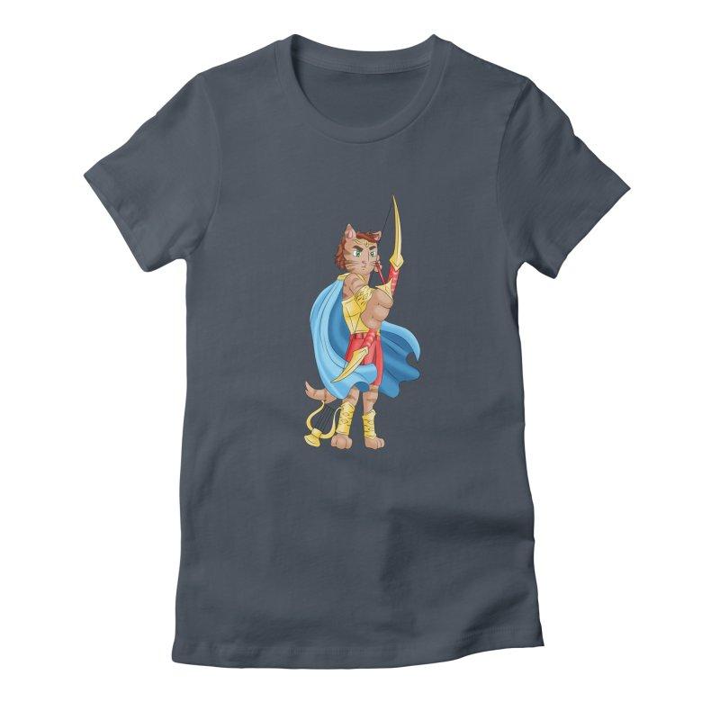 Apollo Cat Women's T-Shirt by Purr City's Artist Shop