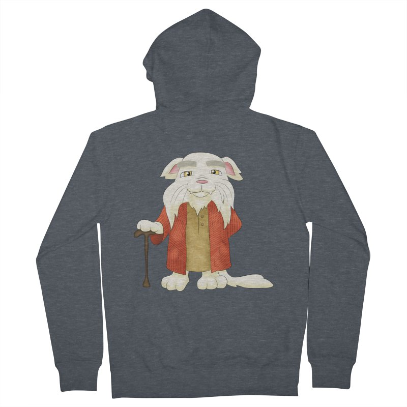 Gandalf Cat Men's Zip-Up Hoody by Purr City's Artist Shop