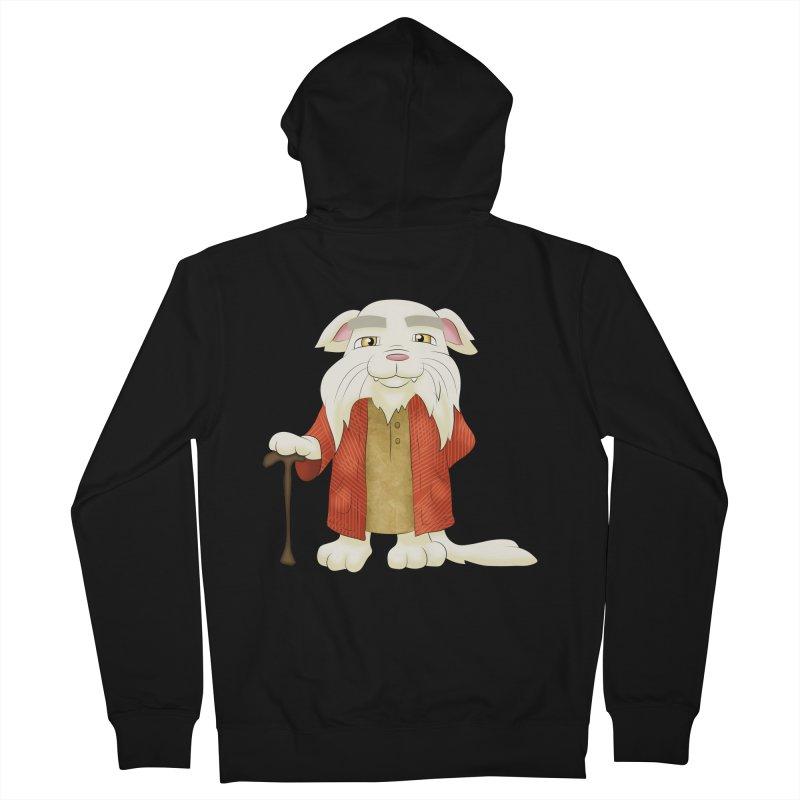 Gandalf Cat Men's Zip-Up Hoody by Purr City's Artist Shop
