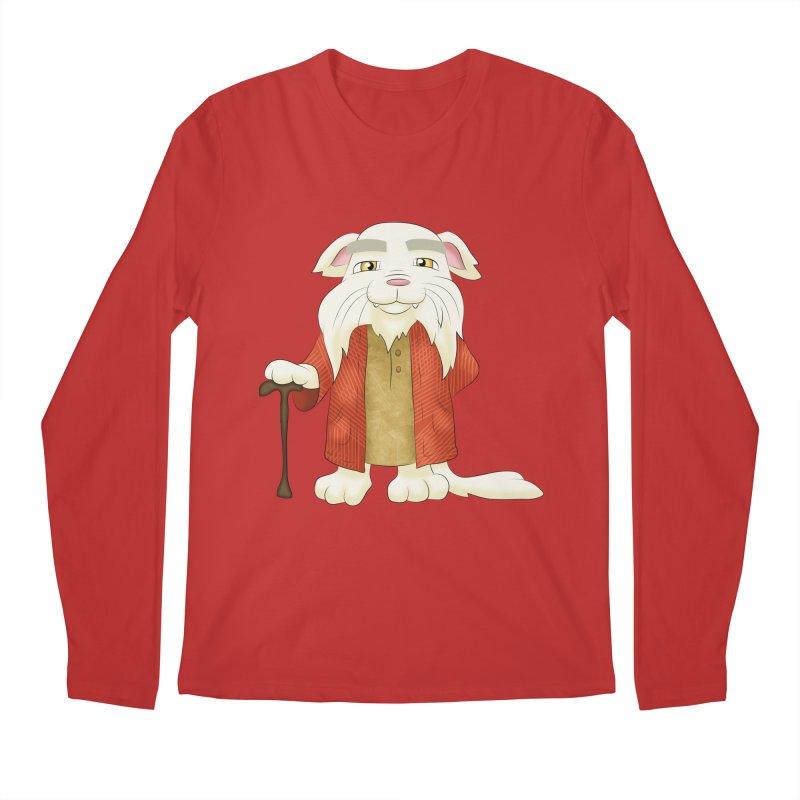 Gandalf Cat Men's Longsleeve T-Shirt by Purr City's Artist Shop