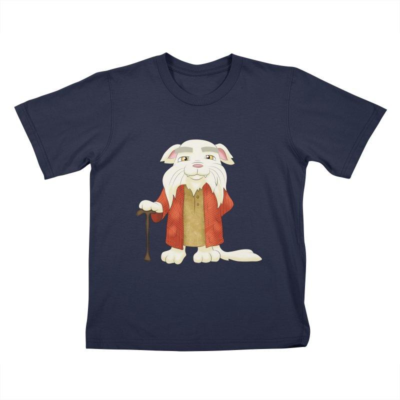Gandalf Cat Kids T-Shirt by Purr City's Artist Shop