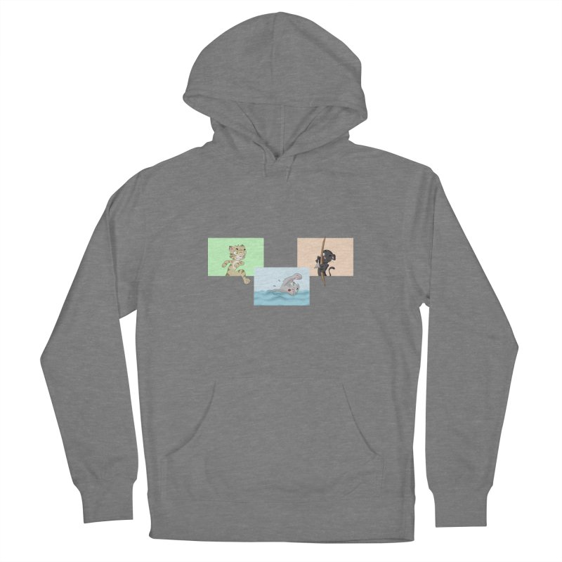 Purr City: Active Cats Women's Pullover Hoody by Purr City's Artist Shop