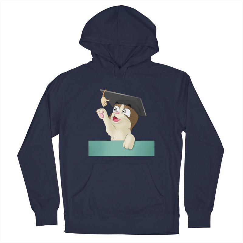 Graduation Cat Men's Pullover Hoody by Purr City's Artist Shop