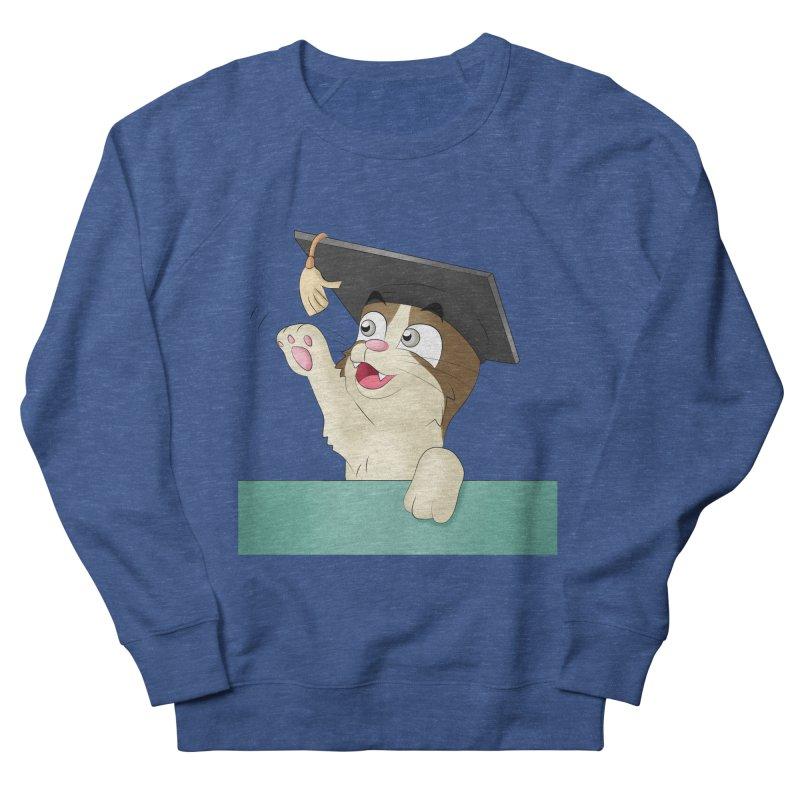 Graduation Cat Men's Sweatshirt by Purr City's Artist Shop