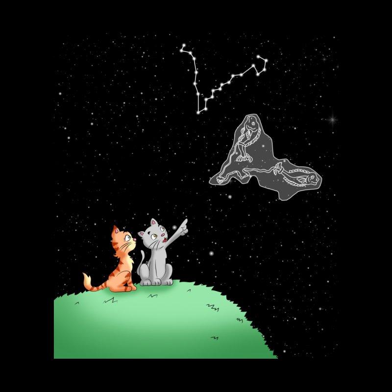 Romantic Cat - Pisces constellation Women's Zip-Up Hoody by Purr City's Artist Shop