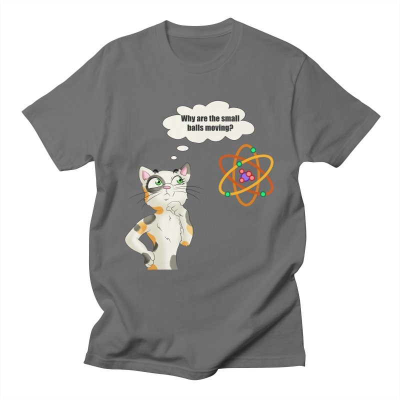 Atom cat Men's T-Shirt by Purr City's Artist Shop