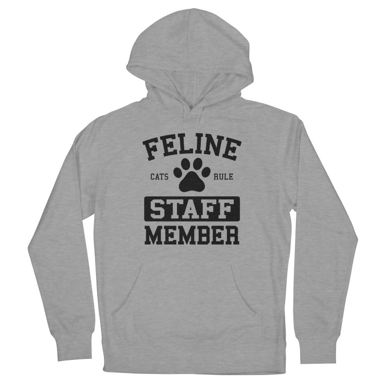 Feline Staff Member Women's French Terry Pullover Hoody by Purrform