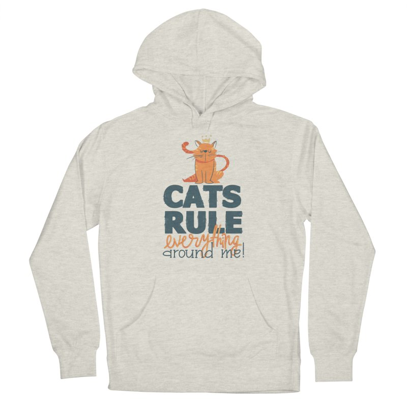 Cats Rule Everything Around Me Men's Pullover Hoody by Purrform