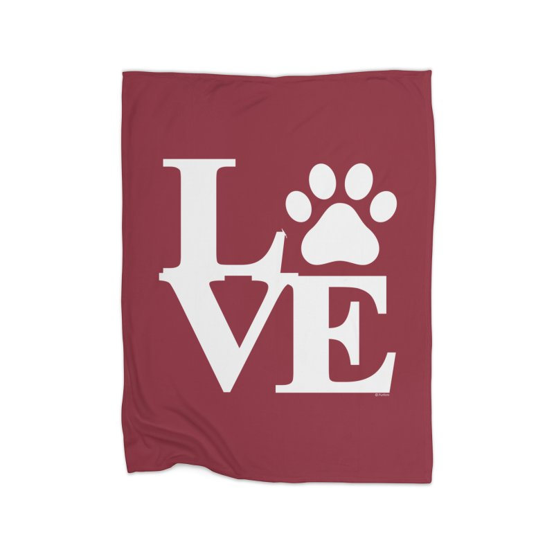 Paw Love Home Decor Blanket by Purrform