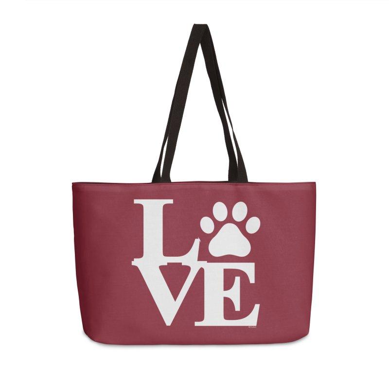 Paw Love Accessories Weekender Bag Bag by Purrform