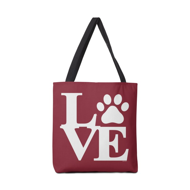 Paw Love Accessories Tote Bag Bag by Purrform