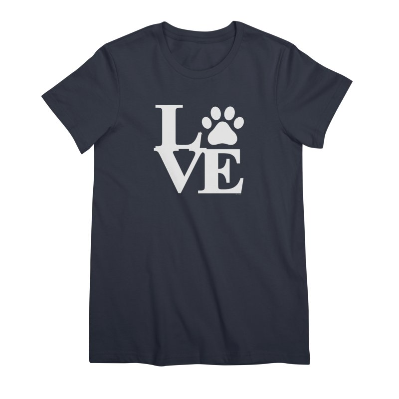Paw Love Women's Premium T-Shirt by Purrform