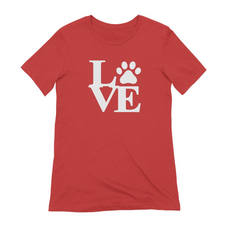Paw Love Women's Extra Soft T-Shirt by Purrform