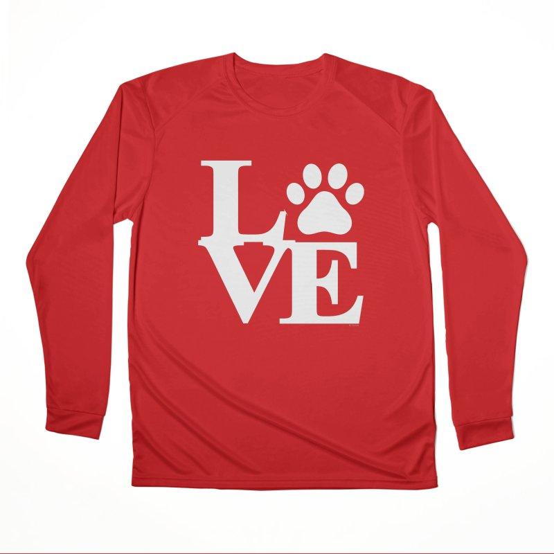 Paw Love Men's Performance Longsleeve T-Shirt by Purrform