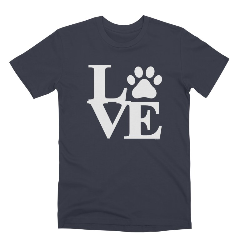 Paw Love Men's Premium T-Shirt by Purrform