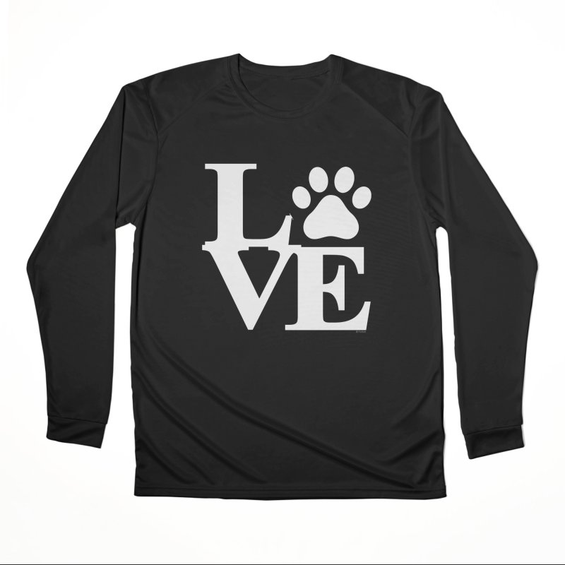 Paw Love Women's Performance Unisex Longsleeve T-Shirt by Purrform