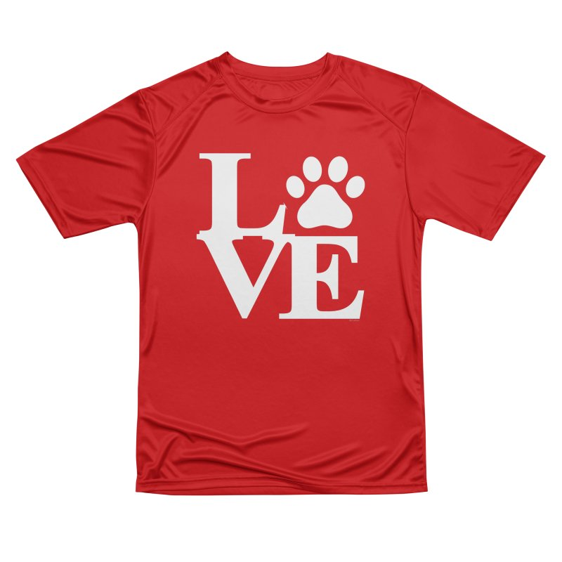 Paw Love Men's Performance T-Shirt by Purrform