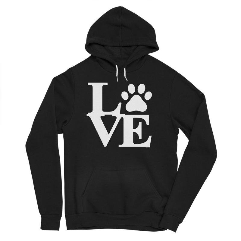 Paw Love Women's Sponge Fleece Pullover Hoody by Purrform