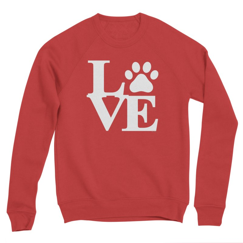 Paw Love Men's Sponge Fleece Sweatshirt by Purrform