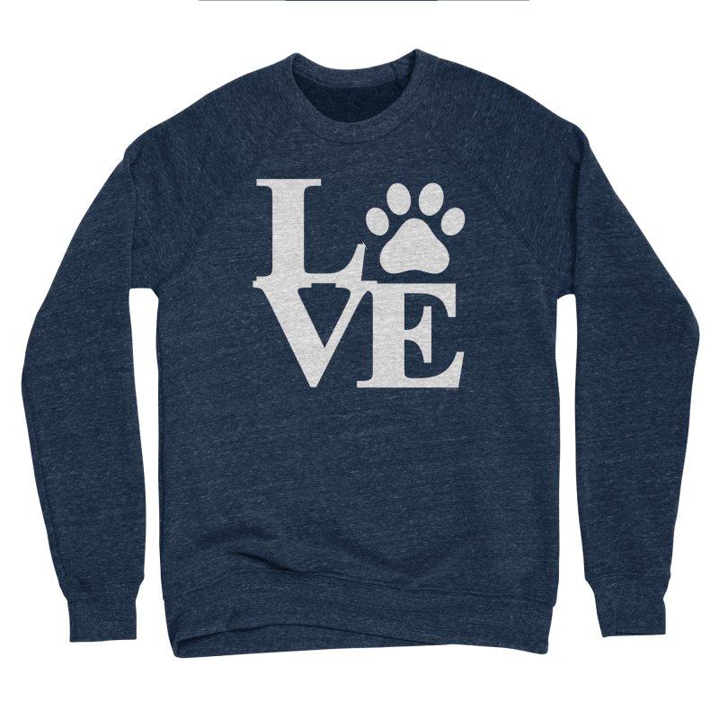 Paw Love Women's Sponge Fleece Sweatshirt by Purrform
