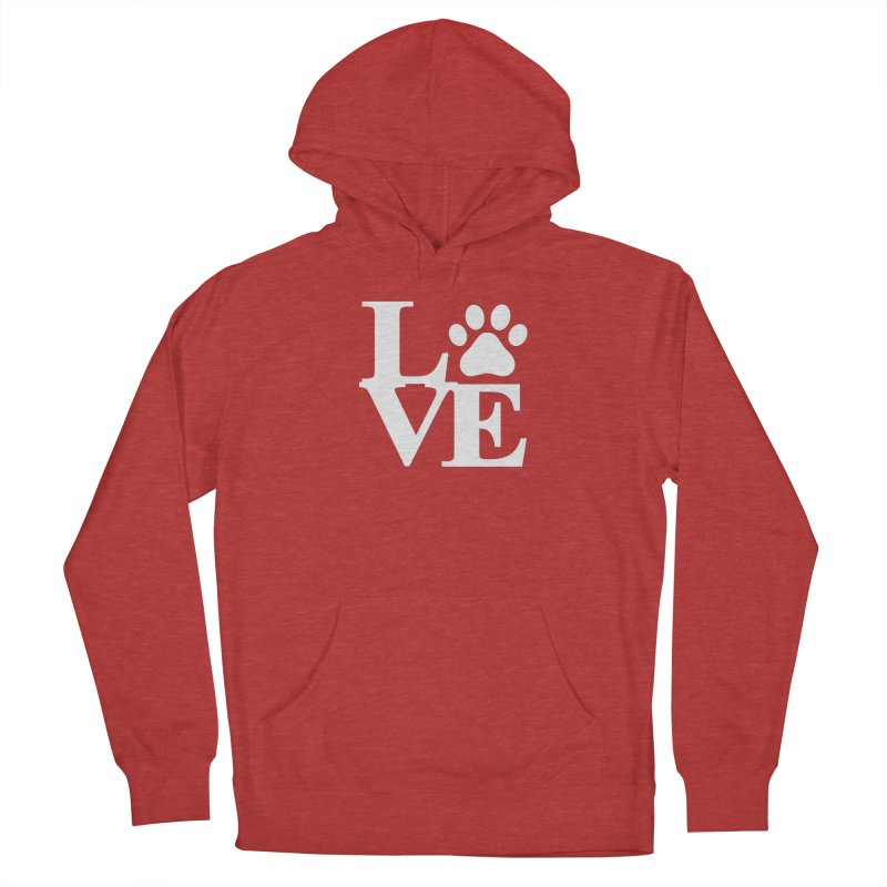 Paw Love Women's French Terry Pullover Hoody by Purrform