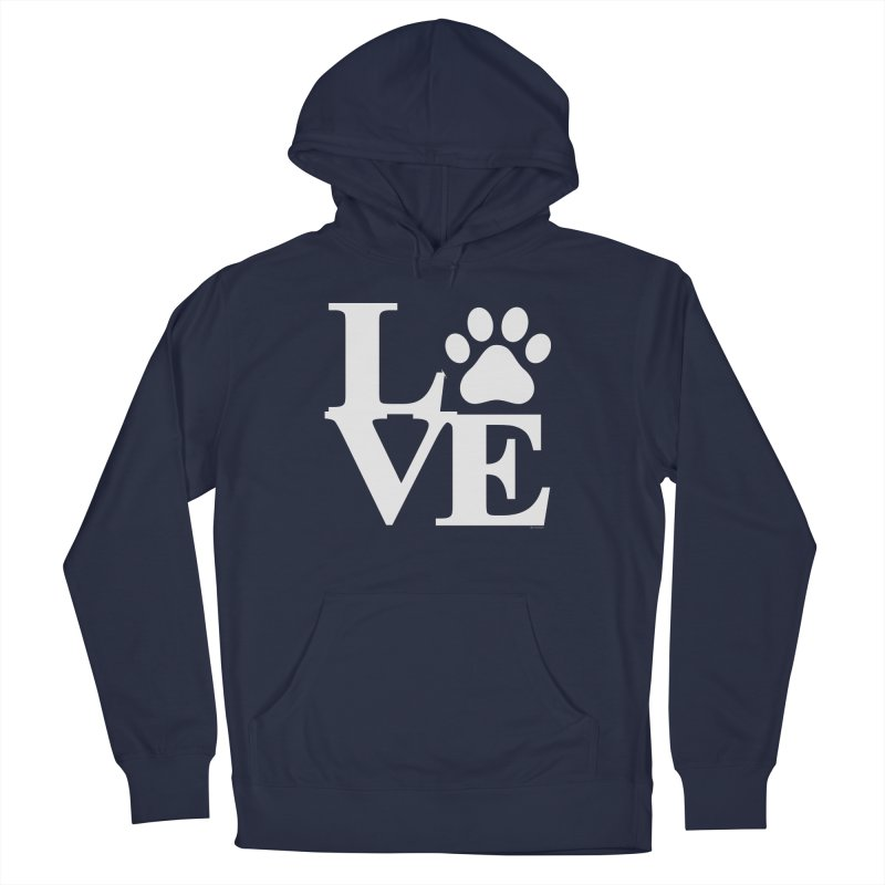 Paw Love Men's French Terry Pullover Hoody by Purrform