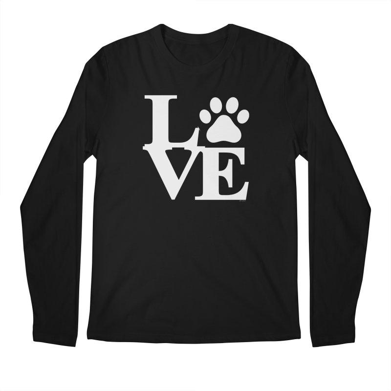 Paw Love Men's Regular Longsleeve T-Shirt by Purrform