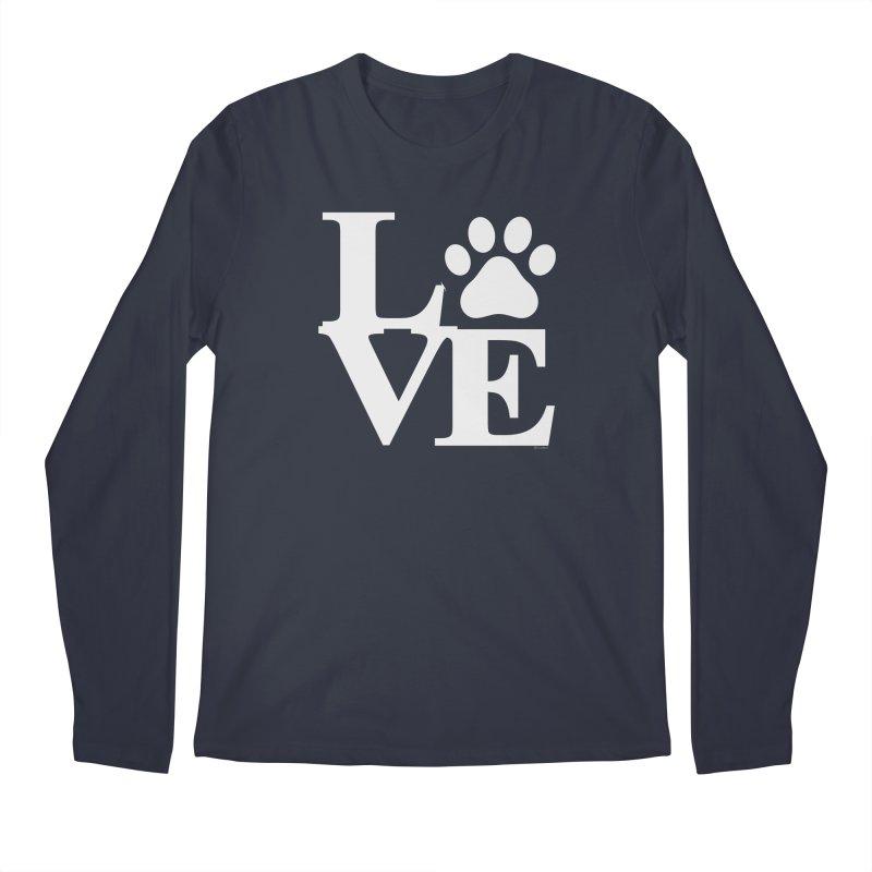 Paw Love Men's Longsleeve T-Shirt by Purrform