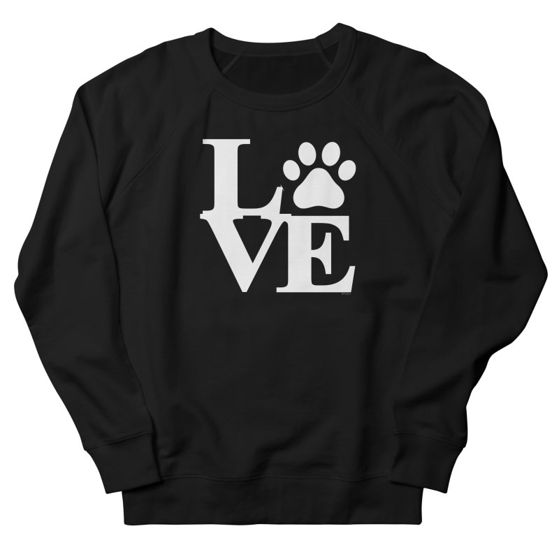 Paw Love Men's French Terry Sweatshirt by Purrform