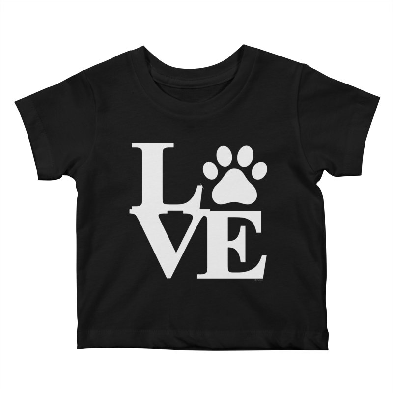 Paw Love Kids Baby T-Shirt by Purrform