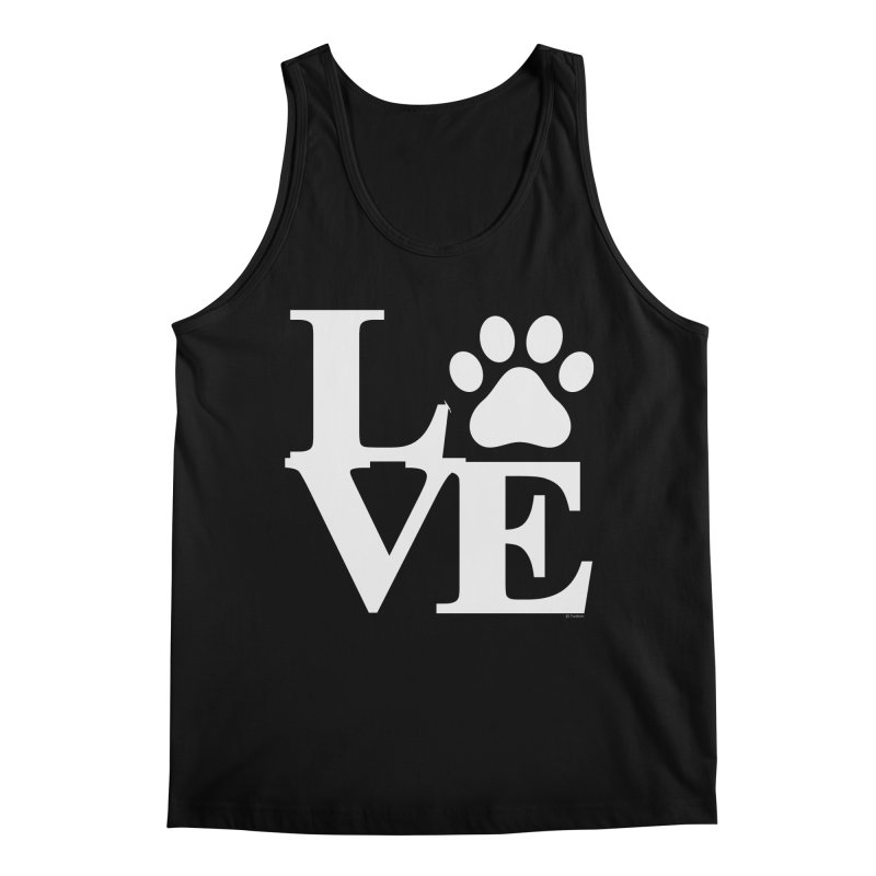 Paw Love Men's Regular Tank by Purrform