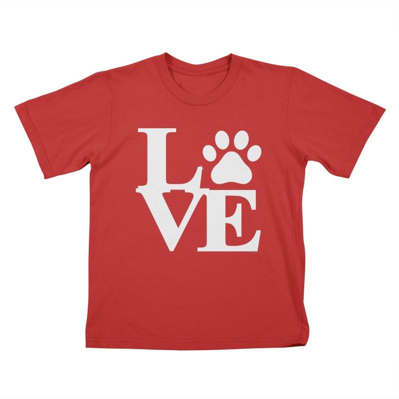 Paw Love Kids T-Shirt by Purrform