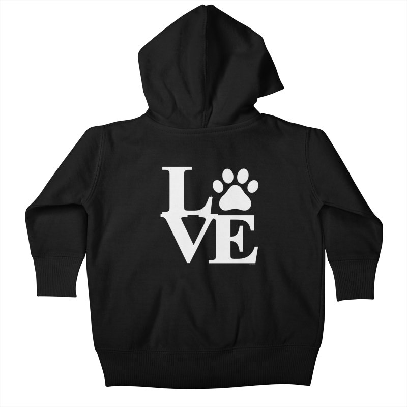Paw Love Kids Baby Zip-Up Hoody by Purrform