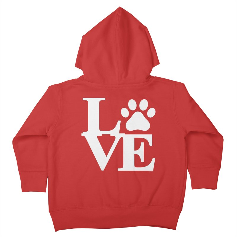 Paw Love Kids Toddler Zip-Up Hoody by Purrform