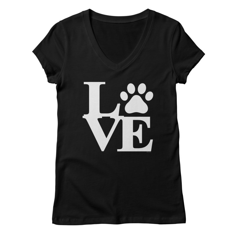 Paw Love Women's V-Neck by Purrform