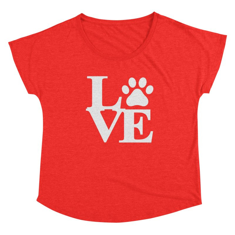 Paw Love Women's Scoop Neck by Purrform