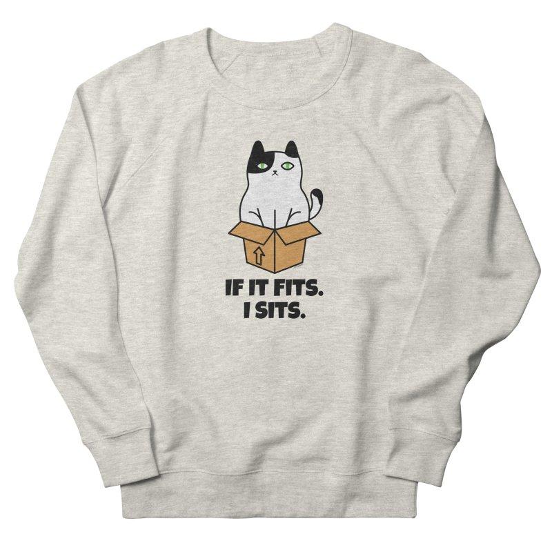 If It Fits I Sits Women's Sweatshirt by Purrform