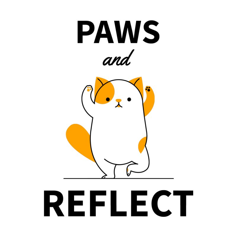 Paws And Reflect Women's T-Shirt by Purrform