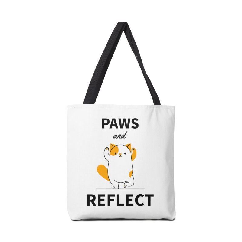 Paws And Reflect Accessories Tote Bag Bag by Purrform