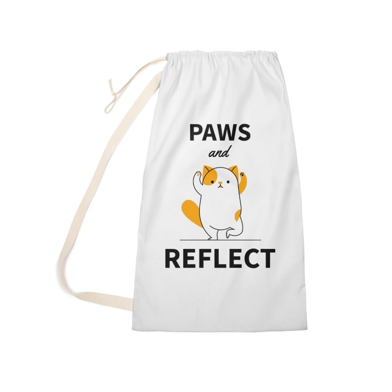 Paws And Reflect Accessories Laundry Bag Bag by Purrform
