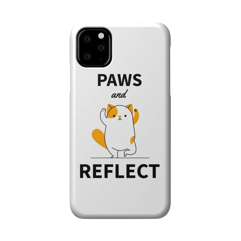 Paws And Reflect Accessories Phone Case by Purrform