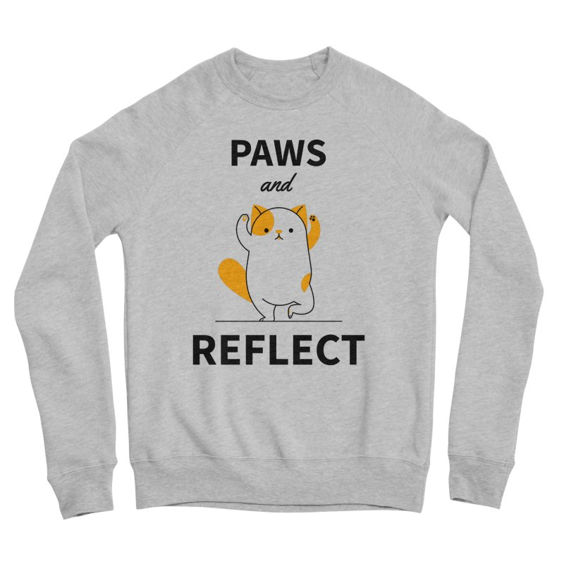Paws And Reflect Men's Sponge Fleece Sweatshirt by Purrform