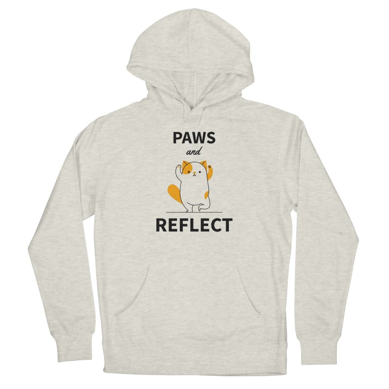 Paws And Reflect Women's French Terry Pullover Hoody by Purrform